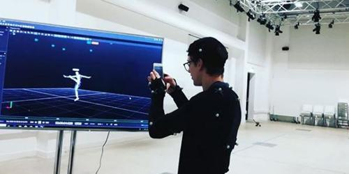 Motion capture stage