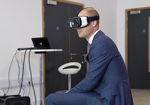 Duke of Cambridge opens Europe's first dedicated centre for emerging tech in Gateshead